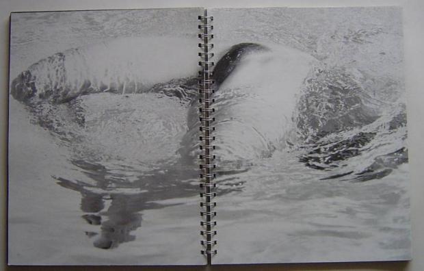 Madonna zwemmend