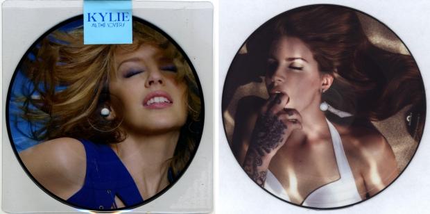 Kylie en Lana elpees