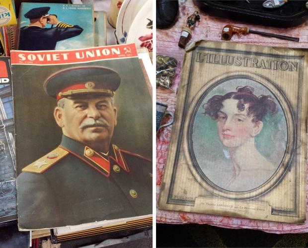 Bleiswijk rommelmarkt tijdschriften go with the vlo