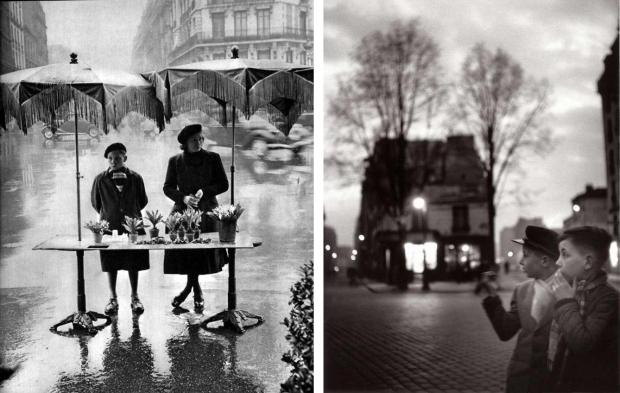 Izis Parijs regen