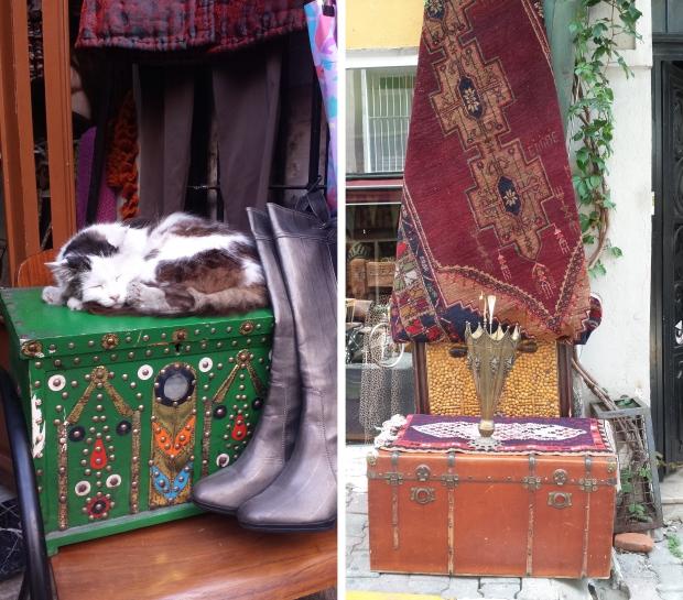 Kisten vintage Istanbul