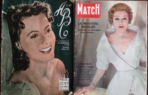 Paris Match Marlene Dietrich