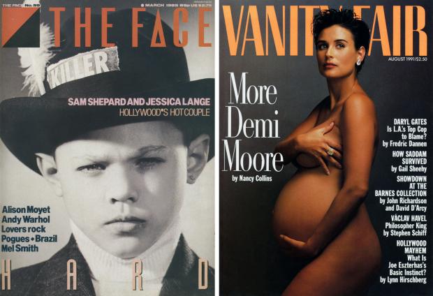 The Face Demi Moore Vanity Fair