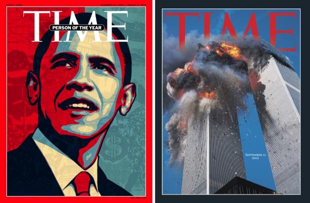 Time 9/11 Obama tijdschriften