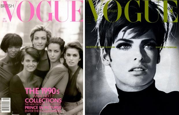 Vogue vintage tijdschriften