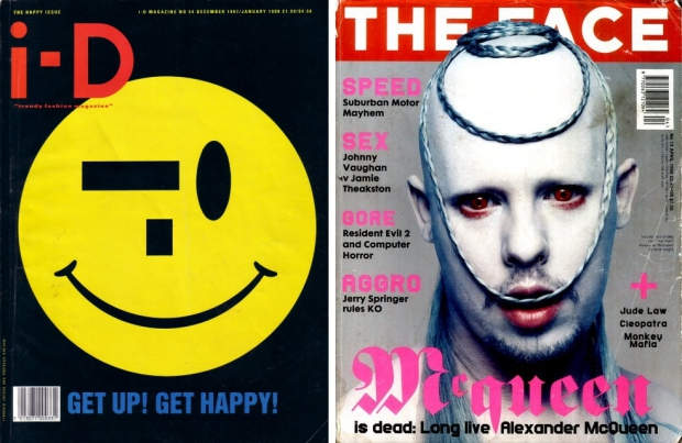 iD Magazine The Face tijdschriften