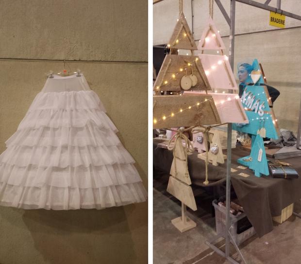 Jurkje en kerstbomen Brabanthallen rommelmarkt