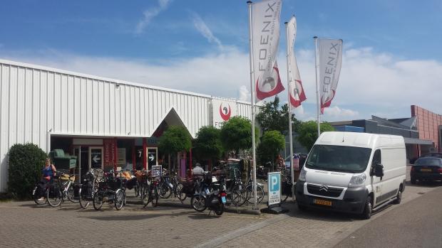Kringloop Foenix Apeldoorn facade