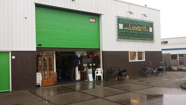 Kringloop Loodz 15 facade