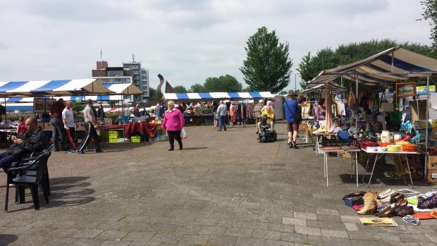 Rommelmarkt Vlaardingen Maasboulevard