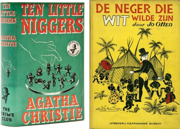Ten Little Niggers Agatha Christie Neger die wit wilde zijn