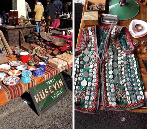 Bomonti vlooienmarkt Istanbul jasje