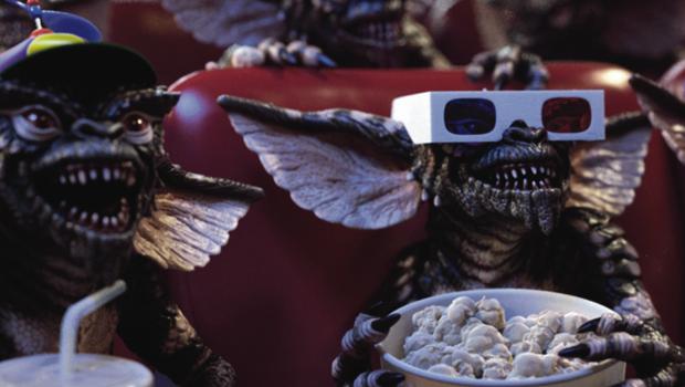 Gremlins kerstfilms banner