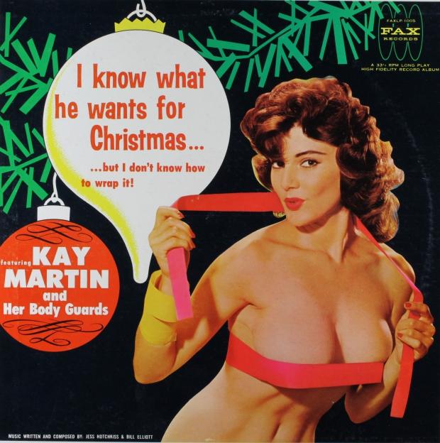Kerstplaat Kay Martin