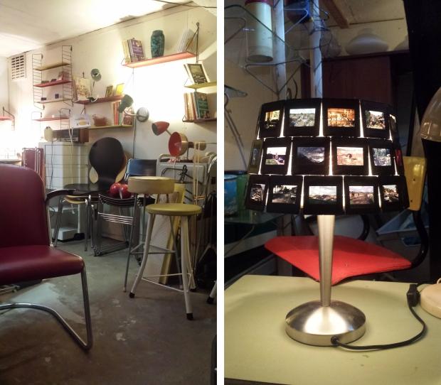 Nummer 13 Rotterdam kelder lamp