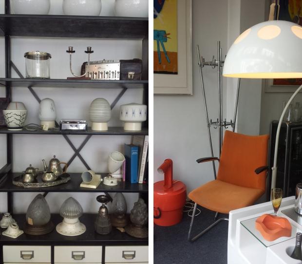 Nummer 13 Rotterdam oranje stoel