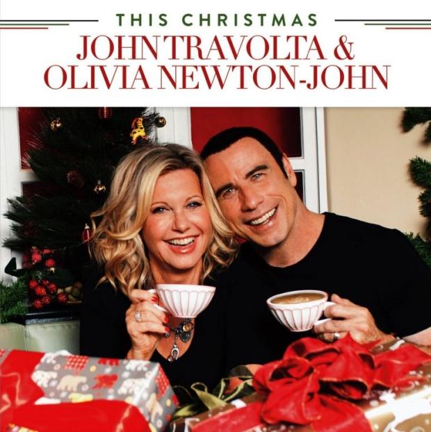 Olivia Newton-John John Travolta kerstplaat