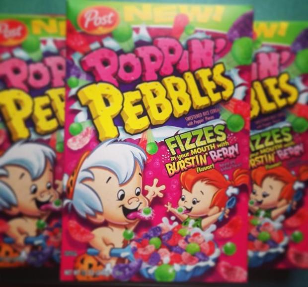 Pebbles cornflakes