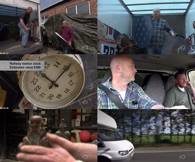 Salvage Hunters antiekprogramma