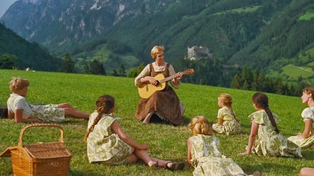 Sound of music gordijnen