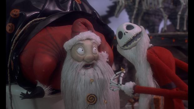 The Nightmare before Christmas kerstfilm kerstman