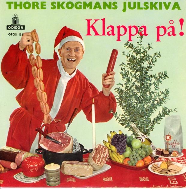 Thore Skogman kerstplaat