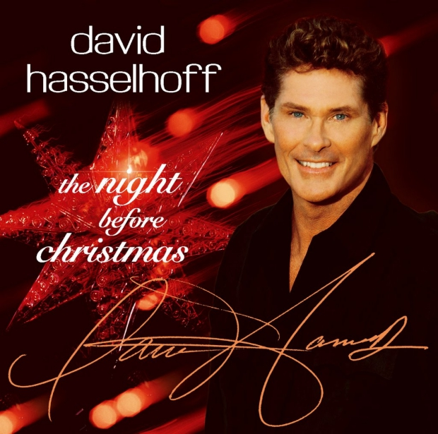 kerstplaat David Hasselhoff The Night Before Christmas