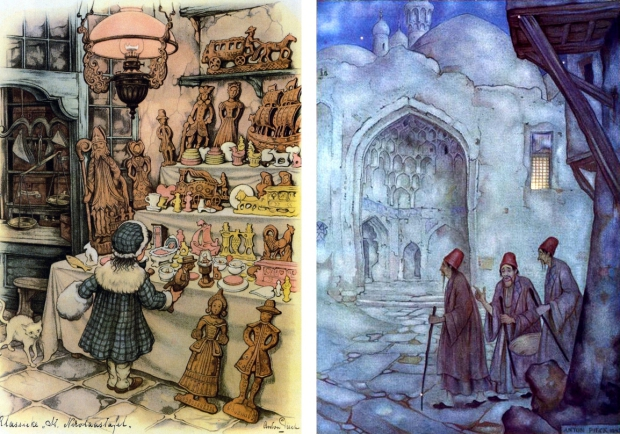 Anton Pieck betoverend