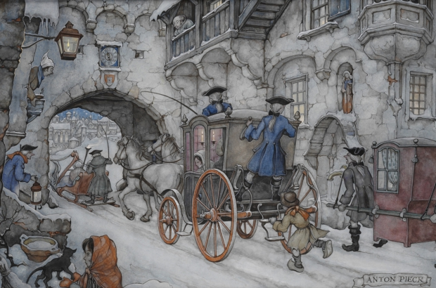 Anton Pieck winter