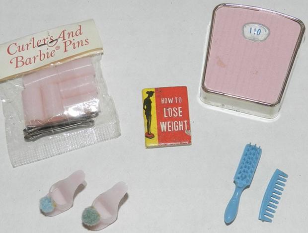 Barbie-weegschaal-set