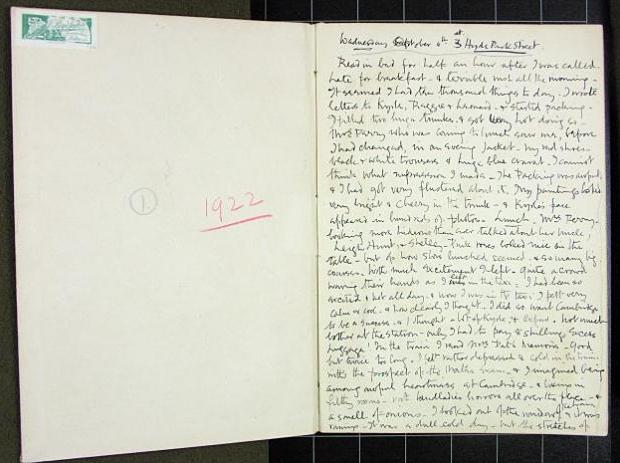 Cecil Beaton dagboek 1922