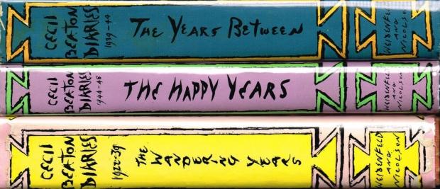 Cecil Beaton dagboeken drie paars