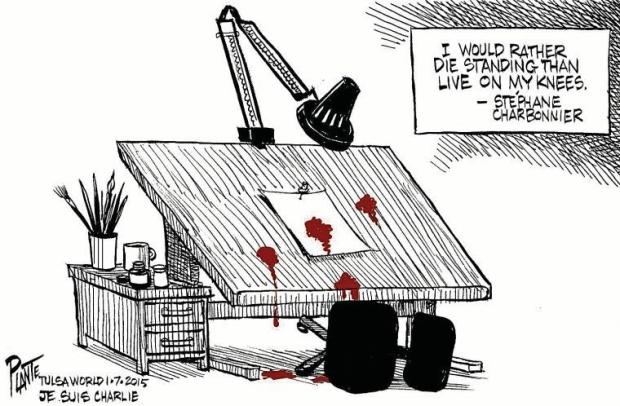 Charlie Hebdo bloedba