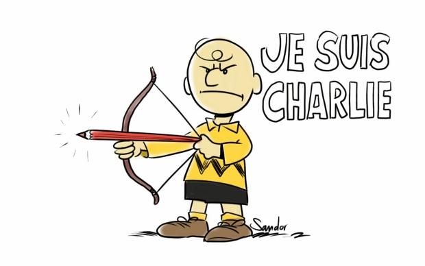 Charlie Hebdo boos