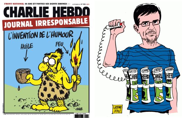 Charlie Hebdo hoofdredacteur