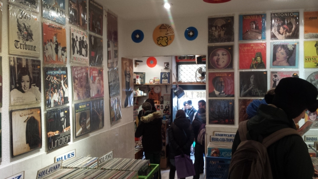 Discos Satélite Madrid platenwinkel
