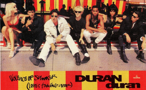 Duran Duran Violence of Summer hoes