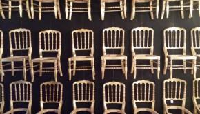 LA Studio Madrid gouden stoeltjes