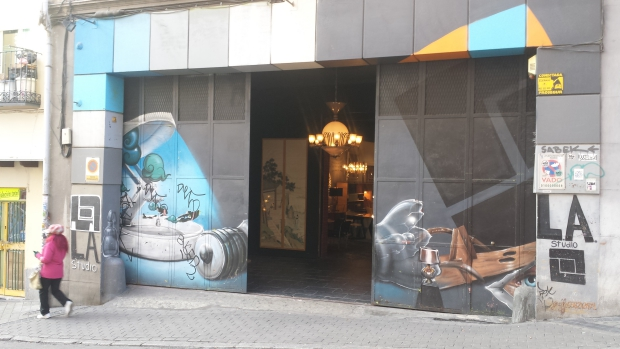 LA Studio Madrid meubelwinkel