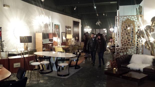 LA Studio Madrid vintage meubels entree