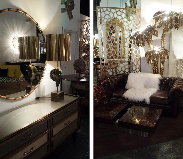 LA Studio Madrid vintage spiegel