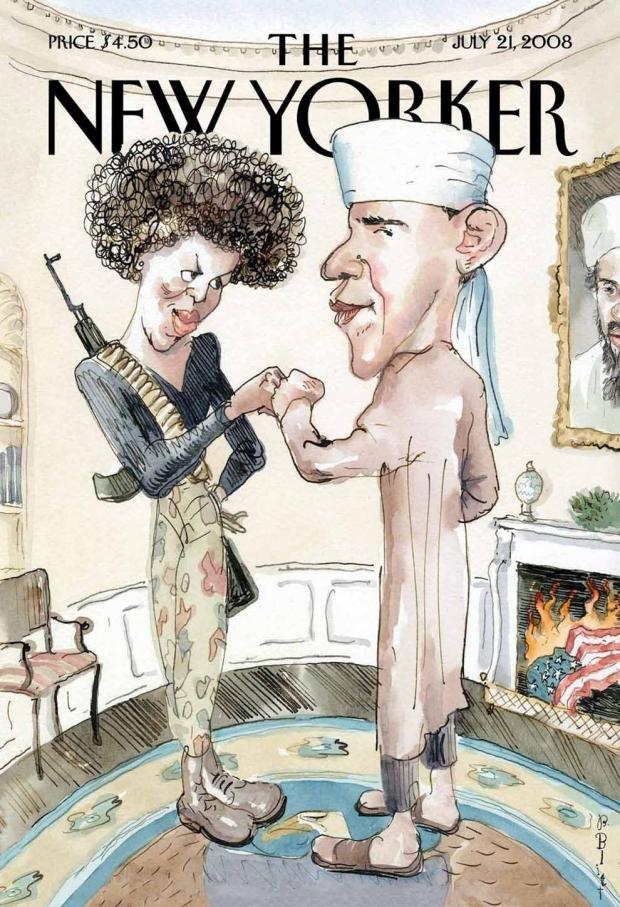 Obama spotprent