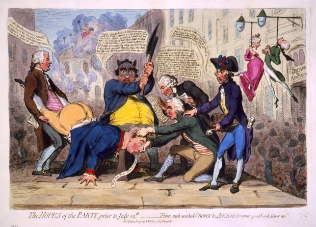 Spotprent Franse Revolutie