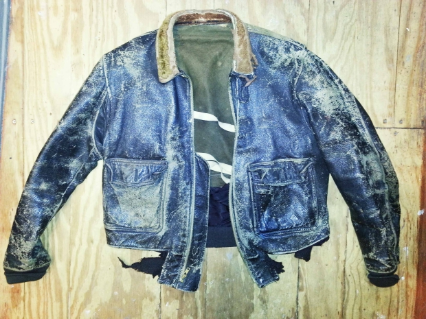 Tommy Page Distressed bomber