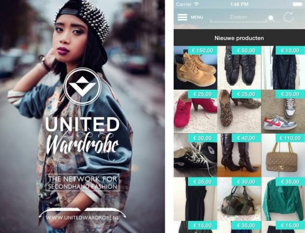 United wardrobe kledingoverzicht