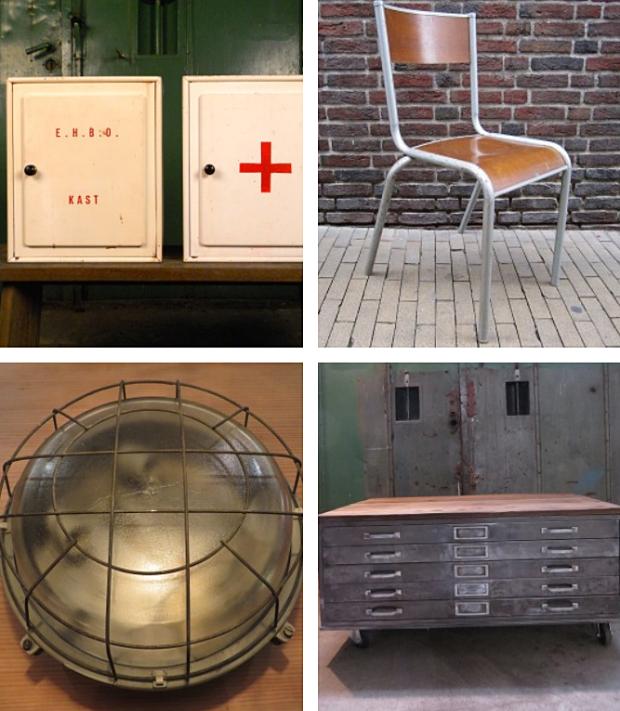 Verroest Groningen stoeltje vintage meubels