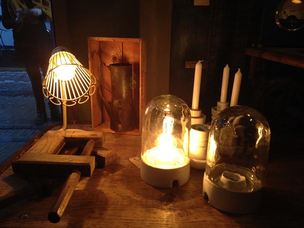 Verroest Groningen vintage lampjes