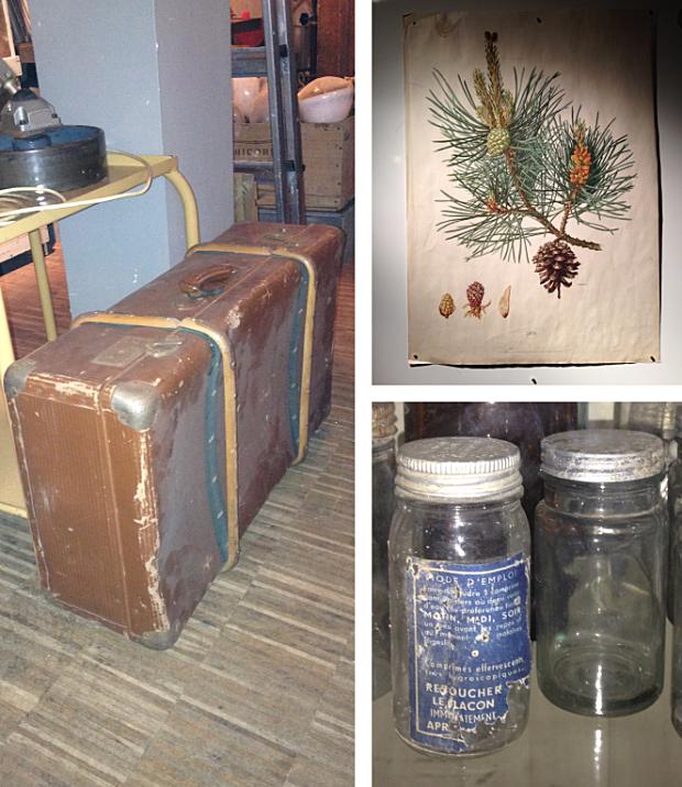Verroest koffer en wandplaat 2