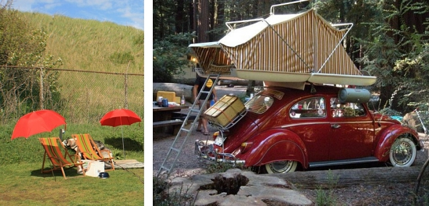 Vintage at Zandvoort parasol