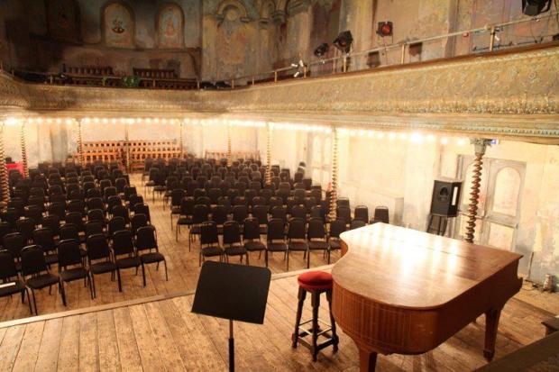 Wilton's theater piano